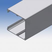 Canalina aria/corrente in alluminio