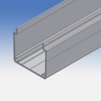 Canalina portacavi in alluminio