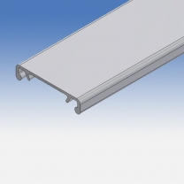 Coperchio canalina portacavi in alluminio