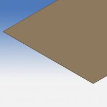 Pannello in policarbonato bronzato