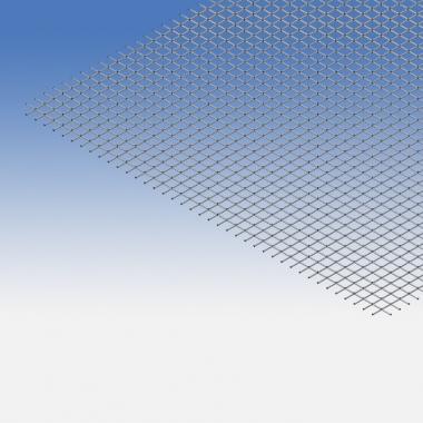 Rete in ferro zincato