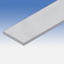 Profilo in alluminio piatto 50x5mm