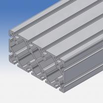 Profilo in alluminio 160x80