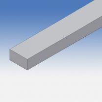 Profilo in alluminio piatto 15x8mm