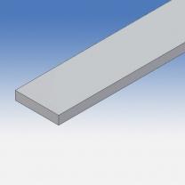 Profilo in alluminio piatto 30x6mm