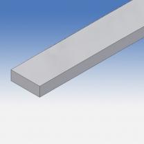 Profilo in alluminio piatto 30x10mm
