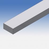 Profilo in alluminio piatto 30x15mm