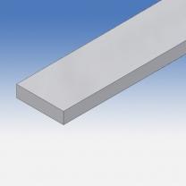 Profilo in alluminio piatto 40x10mm