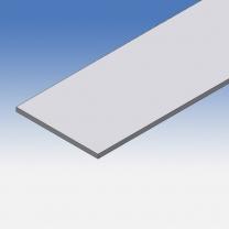 Profilo in alluminio piatto 60x3mm