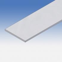 Profilo in alluminio piatto 80x5mm