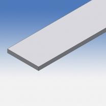 Profilo in alluminio piatto 90x10mm