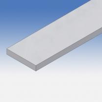 Profilo in alluminio piatto 90x15mm