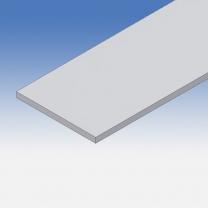 Profilo in alluminio piatto 150x10mm
