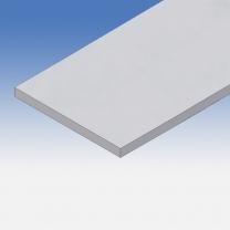 Profilo in alluminio piatto 200x15mm