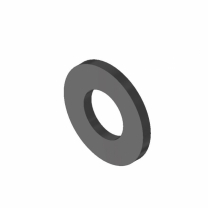 Rondella piana - 10 (10.5x20x2) - 140HV
