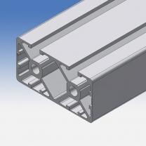 Profilo in alluminio 45x90