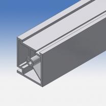 Profilo bacheca in alluminio