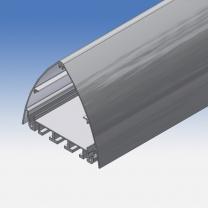 Profilo totem in alluminio