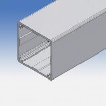 Profilo tubolare in alluminio