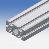 Profilo in alluminio 80x40