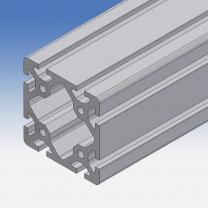 Profilo in alluminio 80x80