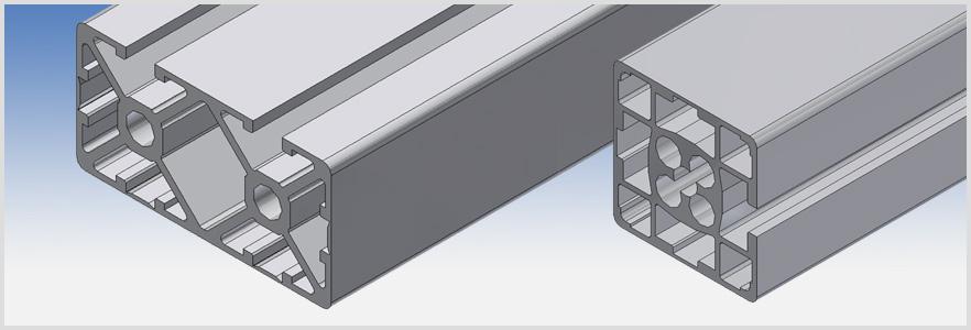 Profili alluminio profilati vendita online pannelli for Vendita on line arredamento design